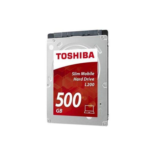 Toshiba L200 500Gb 7mm 5400RPM 8MB Bulk HDWK105UZSVA Toshiba L200 500Gb 7mm 5400RPM 8MB Bulk (HDWK105UZSVA)