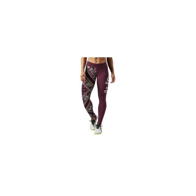 Reebok Series Collant Long One Tight Femme Pas Brandana Grenat Yb6vgf7y