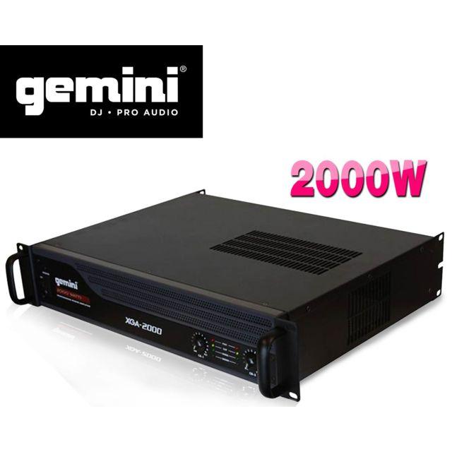 Gemini Amplificateur sono Pa 2000W max Xga2000