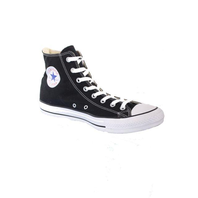 c9acfade3097 Converse - Chaussures Modèle All Star Hi Noir - pas cher Achat   Vente  Baskets femme - RueDuCommerce