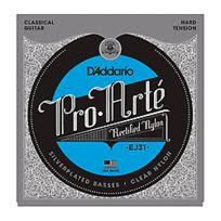 D'Addario - Ej31 Pro-Arté Rectified Trebles Hard Tension