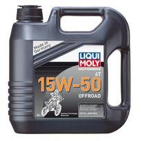 Liquimoly - Liqui Moly Motorbike 4T 15W-50 Offroad 4 l