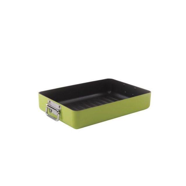BERGHOFF plat à rôtir en aluminium 44,5 x 25 cm vert - 3700093