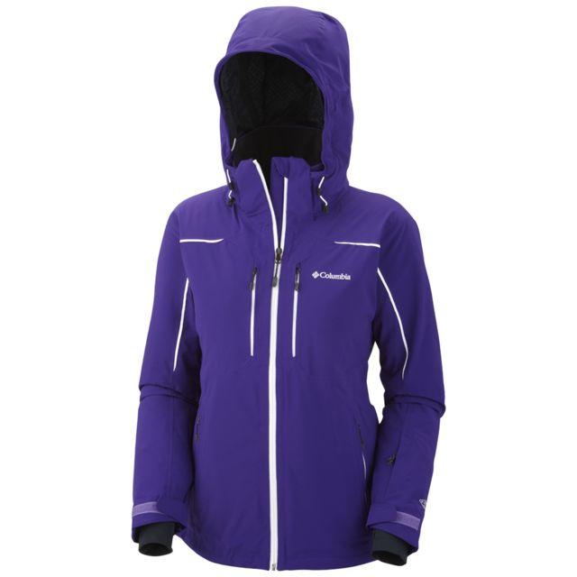 Columbia Parka de Ski Millennium blur jacket Violet pas