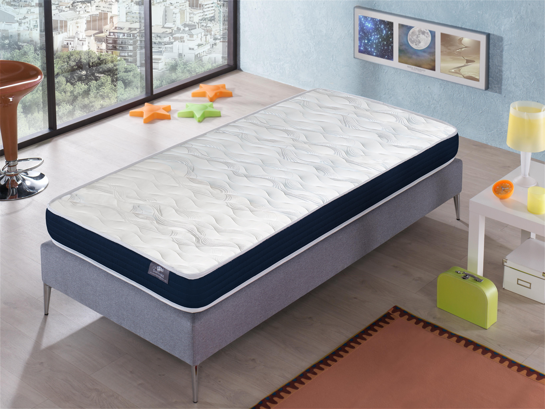 Dormalit Matelas Ergo Confort 80X190 - Hauteur 14 Cm – Rembourrage super soft - Juvénil - idéal pour les lits gigognes