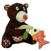 Ebulobo - Peluche Tizours Musical Woodours