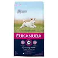 Eukanuba - Croquettes au Poulet pour Chiot de Petite Taille 3Kg