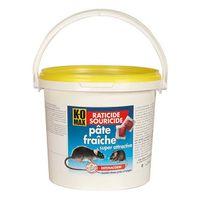 Komax - raticide souricide pâte fraîche 1.5kg - xp1