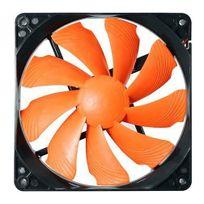 COUGAR - Ventilateur Turbine T12S , Noir/orange - 120mm
