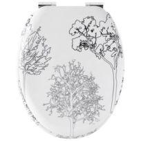 Gelco Design - 705956 Abattant Wc à Descente Ralentie Trees