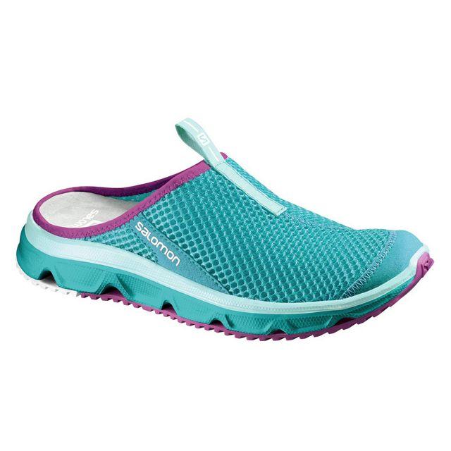 0 Slide Teal Achat Pas Salomon Rx Cher Detente Chaussures 3 Blue ZqpWtw