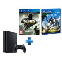SONY - PS4 500Go Chassis D NR SLIM + Call Of Duty Infinite Warfare EDITION LEGACY - PS4 + Horizon Zero Dawn - PS4