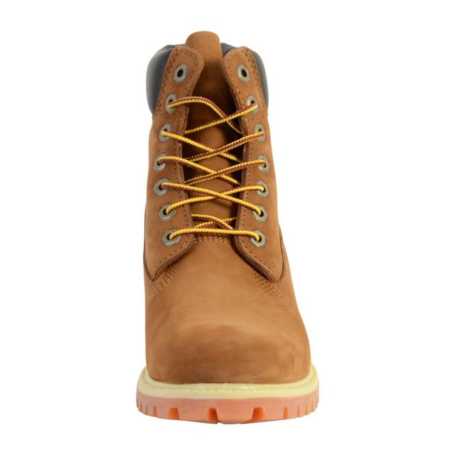 Timberland - Chaussure Af 6 inch Premium Rust Orange