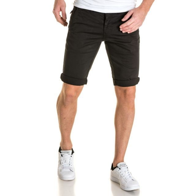 American People - Short chic noir chino 5 poches - pas cher Achat ... c37e73726e7