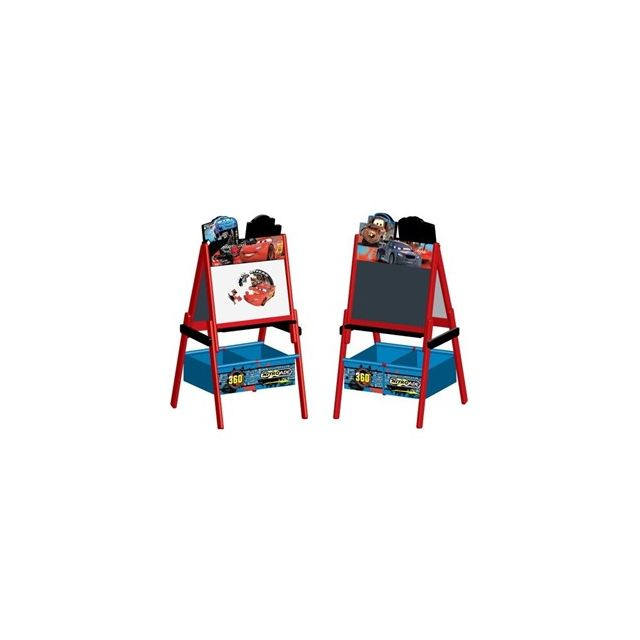 Delta Children Cars Tableau Enfant Chevalet Double Face En