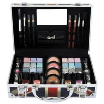 283b255aa231ac Gloss - Coffret cadeau coffret maquillage mallette de maquillage Beauty  London - 40pcs