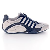 Gulf - Chaussures Admiral blanches et bleues pour homme taille 43