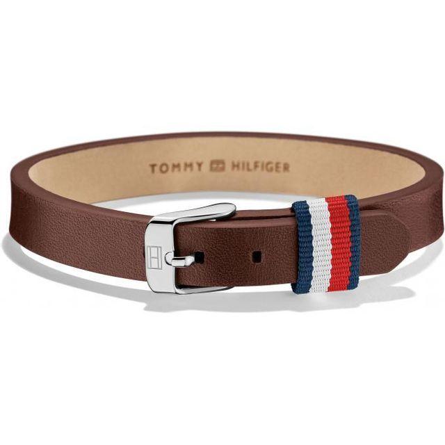 bracelet cuir tommy hilfiger homme