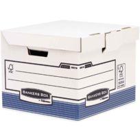 Bankers Box - flash cube bleu - paquet de 10