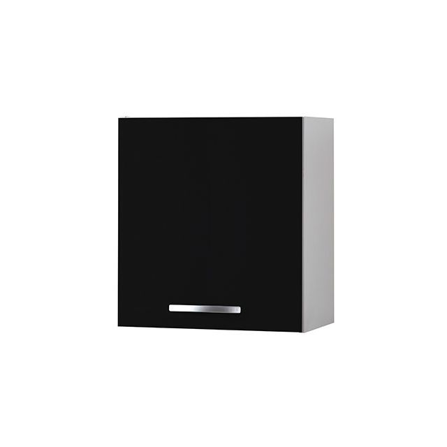 Meuble haut L60xH58xP36cm - noir