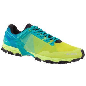 Salewa Chaussures  Ms Lite Train Sulphur/viridian Vert - Livraison Gratuite avec - Chaussures Chaussures-de-running Homme