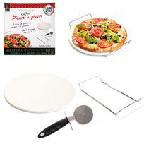 Pierre à pizza et roulette easy