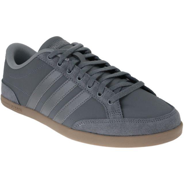 Adidas Caflaire B43742 Gris pas cher Achat Vente