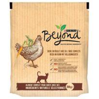 Beyond - Croquettes au Poulet avec de l'Orge Complète pour Chats 350g