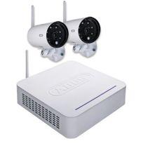 Abus - Kit vidéo surveillance sans fil numérique - carte Sd 8 go - Tvac18000A