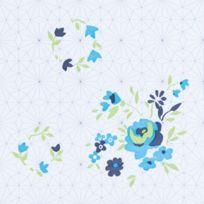 ouvre&deco . Dalle de sol Pvc auto-adhésive, Top Modèles, Décoration intérieure - Dalle de sol auto-adhésive Décoration Blue Rose