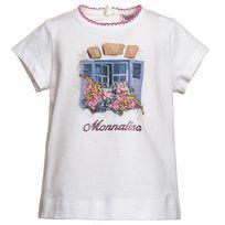 Monnalisa - T-shirt blanc