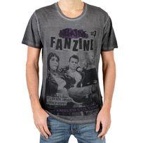 Eleven Paris - T-shirt Fanzine 3 Noir
