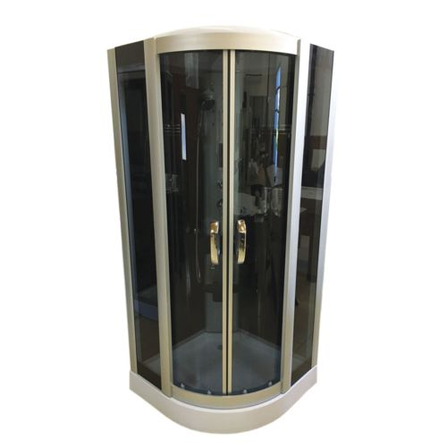 Simba cabine de douche hydromassante mod le virginia 100 x 100cm spa bain chromoth rapie pas - Cabine de douche chromotherapie ...