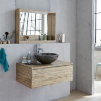 meuble salle de bain bois - Achat meuble salle de bain bois pas cher ...