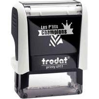 """Printy - tampon les p'tits champions, formule """"champion de mathématique"""