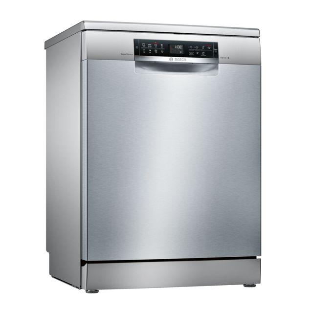 Bosch lave-vaisselle 60cm 14c 44db a++ pose-libre inox - sms68mi06e