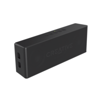 Creative Labs - Creative MUVO 2 Bluetooth Wireless Speaker Black
