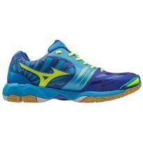 Mizuno - Chaussures Wave Tornado X bleu/jaune/bleu clair