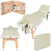Massage Imperial - Table de Massage Reiki Léger - Créme