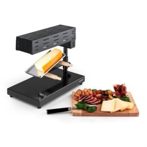 Klarstein appenzell 2g appareil raclette traditionnel - Appareil a raclette carrefour ...