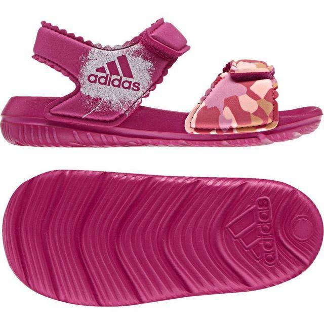 2f6603570adde Adidas - Sandales altaswim bébé enfant fille - pas cher Achat   Vente  Sandales et tongs homme - RueDuCommerce