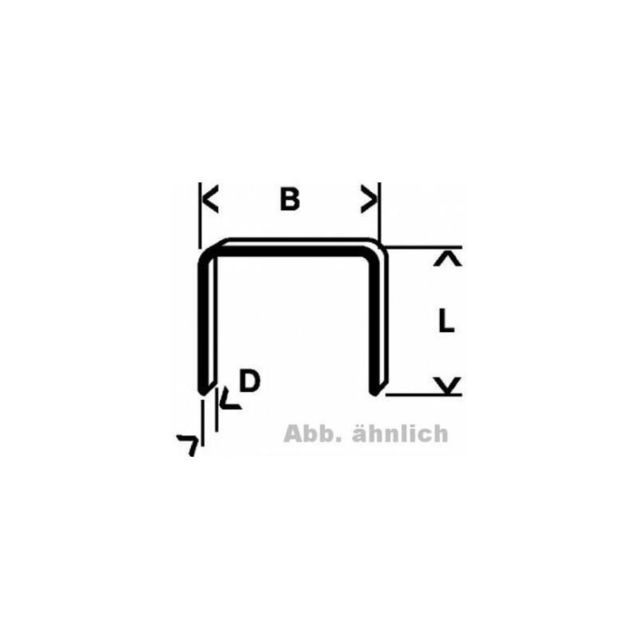 Bosch Plat Fil Pince Agrafes Type 58 13 x 0,75 x 8 mm neuf dans boîte
