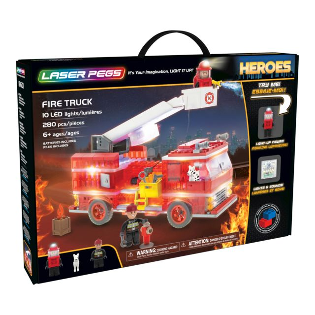 LASER PEGS HEROES - Camion lumineux - 18601