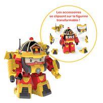 ROBOCAR POLI - Véhicule transformable Roy - Super pompier - 83314