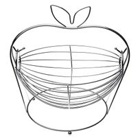 Versa - Corbeille à Fruits Métal - Pomme