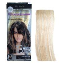Balmain Hair - Extension adhesive Easy volume Balmain 40 cm - Extension Bande - L10 Longueur des cheveux:40 - Old_Couleur:RH : N 613 Blond platine / Majirel : N 900