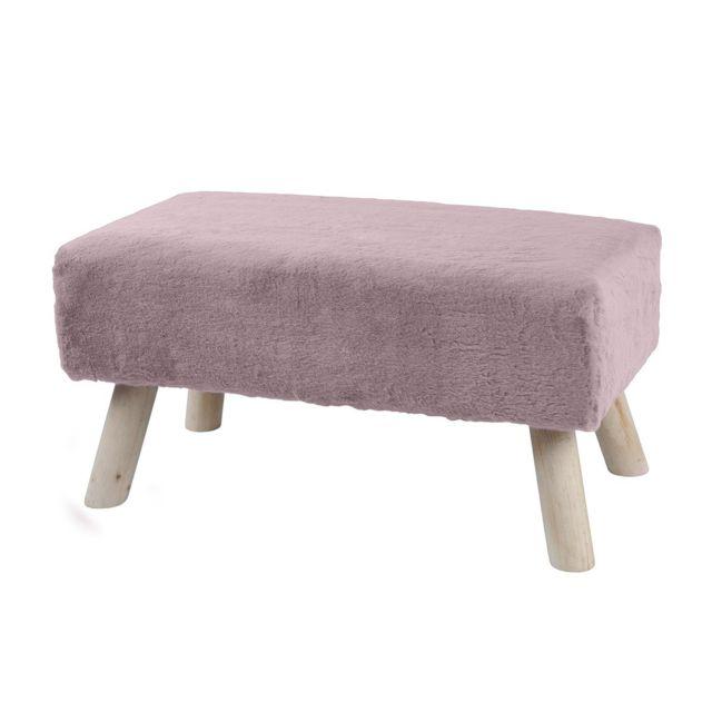 Lovely Casa Banc Bench Rose Pas Cher Achat Vente Tabourets Rueducommerce