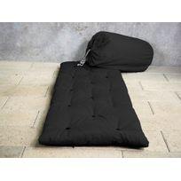 Marque Generique - Matelas futon d'appoint 1 personne 70x190 Bed In Bag - Anthracite