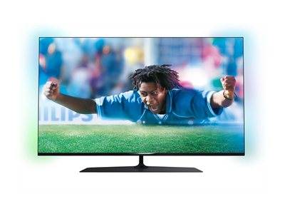 philips televiseur 4k 55 pouces 55pus780912 pas cher achat vente tv led de 46 39 39 49. Black Bedroom Furniture Sets. Home Design Ideas