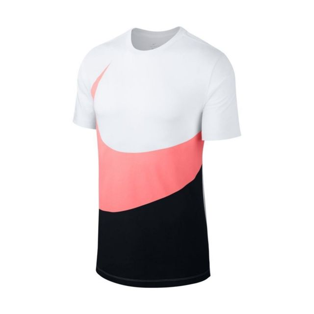 tee shirt nike rose homme